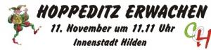 """Hoppeditz Erwachen unter dem Motto """"von Hilden - für Hilden"""" @ Vorplatz der Sparkasse HRV"""